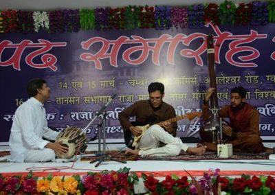 Ashish Sarwate, festival de Gwalior