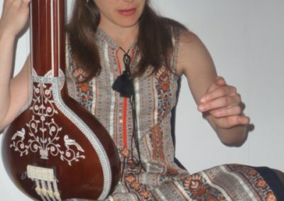 Singing with Tanpura